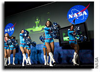 NASA cheerleaders