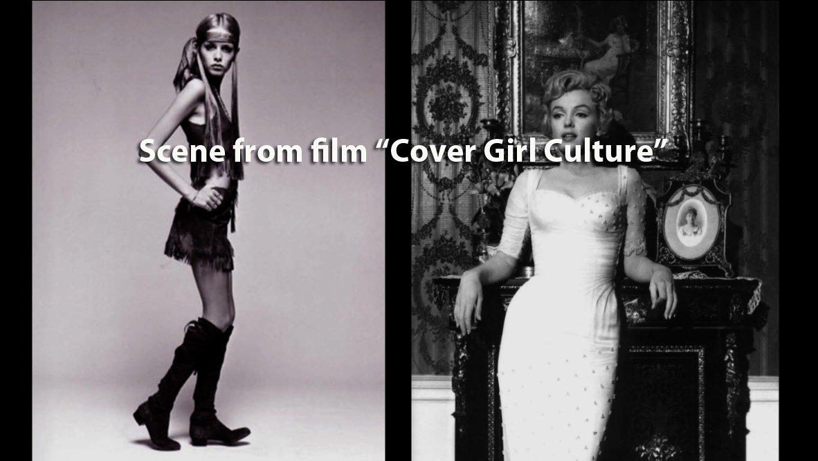 Twiggy VS Marilyn